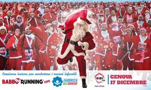 Babbo Running con Fabbrica del Sorriso a Genova: Babbo Running con Fabbrica del Sorriso - Il17 dicembre a Genova (sconto 36%)