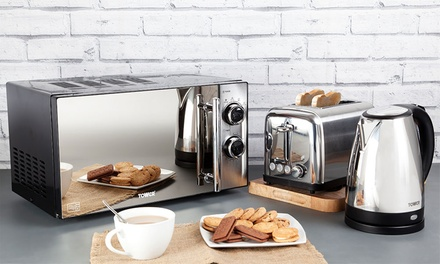 Tower Microwave, Kettle and Toaster Set for £99.98 With Free Delivery (47% Off)