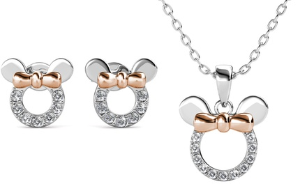 Bijoux Micky de la marque Her Jewellery ornés de cristaux Swarovski®