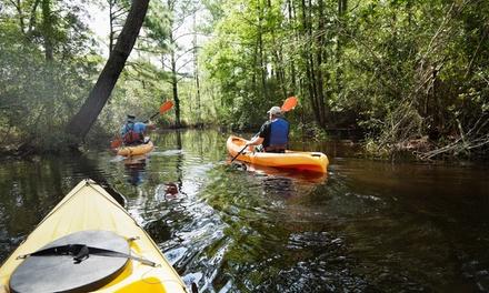 1h30 de Kayak pour 1, 2 ou 3 personnes dès 15 € avec S.P.C.O.C Kayak