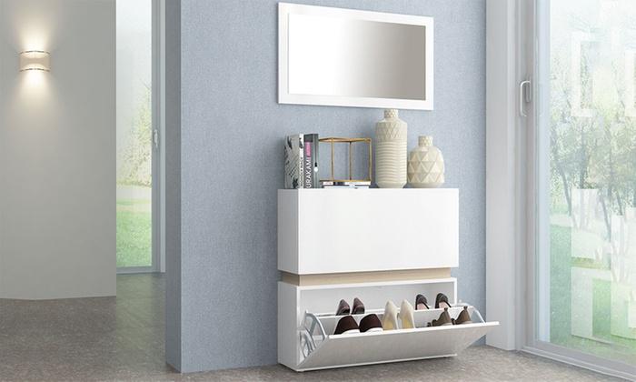 Beautiful armadio scarpiera 2 ante ideas for Groupon armadio