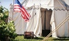 Camp Flintlock, Inc. - Colonial Faire: Colonial-Fair Visit for Two or Four at Camp Flintlock, Inc. (Up to Half Off)