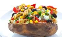 2x, 4x oder 6x Kartoffel-Kumpir mit Salat und Softdrink im Spezialitäten-Restaurant Paulis Kumpir (bis zu 62% sparen*)