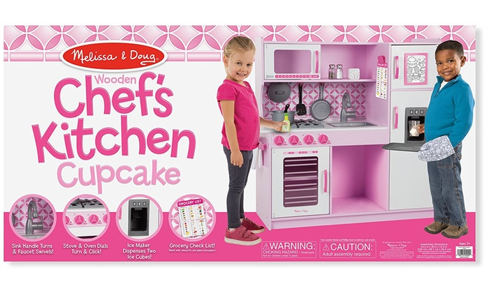 Melissa And Doug Chef S Kitchen Pretend Play Set Livingsocial