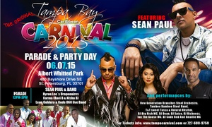 Tampa Bay Caribbean Carnival: Up to 50% Off Entry to Carnival at Tampa Bay Caribbean Carnival