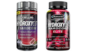 Hydroxycut Hardcore (60-Count) and Hardcore Elite (100-Count)