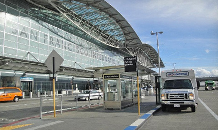 Anza Parking - Anza Parking: Three, Five, or Seven Days of Airport Parking at Anza Parking (Up to 51% Off)