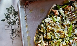 Wild: Organic, Gluten-Free Gourmet Pizzeria Fare at Wild (Up to 50% Off). Four Options Available.