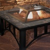 Pure Garden Square or Round Outdoor Fire Pits
