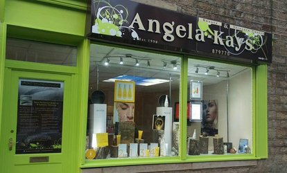 image for 60- or 90-Minute Pamper Package at Angela Kay's Beauty Salon (Up to 61% Off)