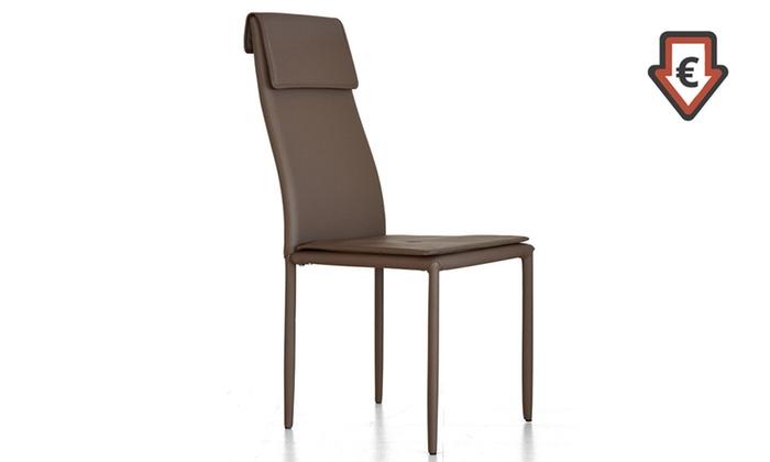 Set sedie da soggiorno katy groupon