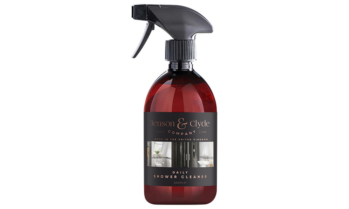 One, Two or Four 500ml Bottles of Jenson & Clyde Daily Shower Cleaner