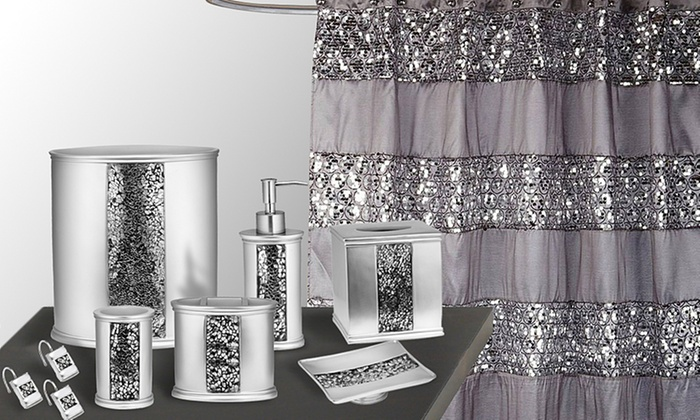 Up To 52% Off on Sinatra Bath Set | Groupon Goods Le Gl Bathroom Accessories on furniture accessories, pantry accessories, fireplace accessories, home accessories, spa accessories, shower accessories, bedroom accessories, jewelry accessories, outdoor accessories, interior design accessories, office accessories, bathtub accessories, closet accessories, cleaning accessories, travel accessories, croscill mosaic leaves bath accessories, west elm slate bath accessories, house accessories, room accessories, sink accessories,