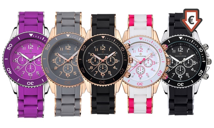 Reloj Timothy Stone con cristales Swarovski® | Groupon Goods