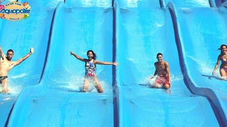 1, 3 o 5 entradas de un día al parque acuático Aquopolis Sevilla desde 15,50 €