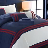 Groupon.com deals on Eleanor Oversized Comforter and Sheet Set 10-Piece