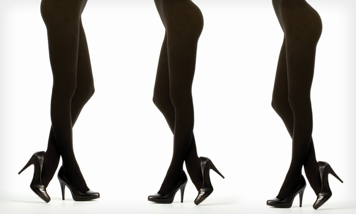 MeMoi Opaque Tights: $9 for MeMoi Opaque Tights ($18 List Price). Multiple Colors, Styles, and Sizes Available. Free Shipping.