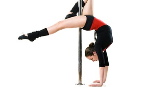 Expressions Fitness: One or Three Intro Pole-Fitness Classes, or One Party for Up to 10 at Expressions Fitness (Up to 50% Off)