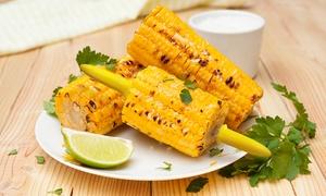 Porte-maïs en acier inoxydable