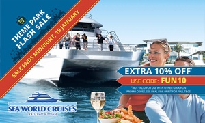 Sea World Cruises: $45 for a Six-Hour Day Cruise Experience or $65 to add lunch with Sea World Cruises (Up to $85 value)