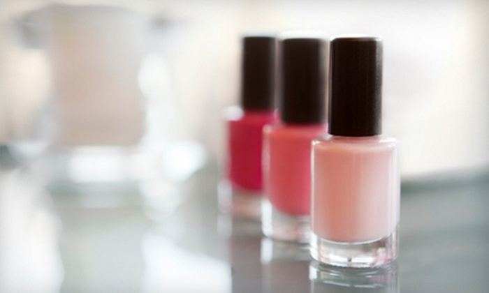 Beaux Cheveux - Multiple Locations: One, Two, or Three Mani-Pedis at Beaux Cheveux in Overland Park (Up to 60% Off)