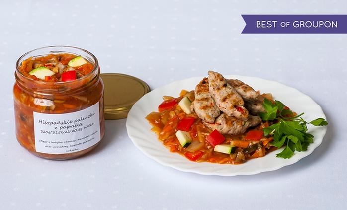 Catering dietetyczny, 30 pozycji do wyboru: 6 słoików za 55,99 zł i więcej opcji w Catering SAAS
