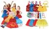 Princess Colorful Dress-Up Trunk Set with Accessories (25-Piece)