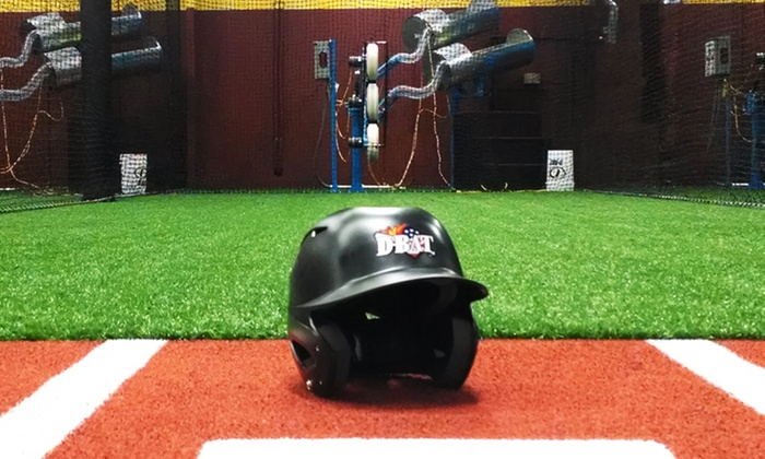 D-BAT Little Rock - Shackleford Road: 20 Batting Cage Credits with Option for Half-Hour Lesson at D-BAT Little Rock (Up to 57% Off)