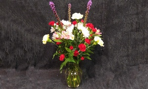 Russell Florist: Floral Arrangements at Russell Florist (50% Off). Two Options Available.