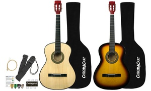 Rise by Sawtooth Steel String Beginner's Acoustic Guitar Bundle