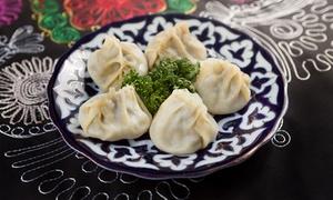 Manty - Restauracja Uzbecka: Uzbeckie pierogi: manty (od 16,99 zł) z sałatką i napojem (od 32,99 zł) dla 2 osób i więcej w restauracji Manty