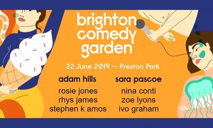Brighton Comedy Garden 2019