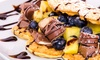 Happy Waffel + Toppings + Getränk
