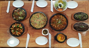 Tofu Village: $10 for $20 Worth of Korean Dinner Cuisine for Two or More at Tofu Village