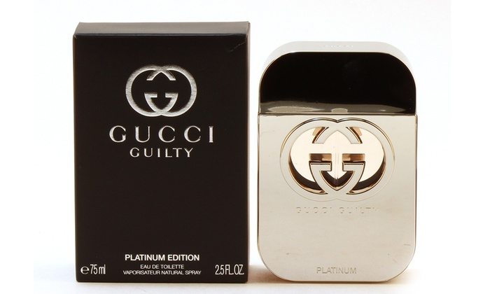 eb27ccbc40 Gucci Guilty Platinum Edition Eau de Toilette for Women (2.5 Fl. Oz.)
