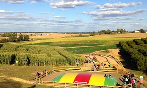 Trunnell's Family Fun-Acre & Farm Market: Two, Four, or Six Buy the Farm Passes and Two Slushies at Trunnell's Family Fun-Acre & Farm Market(Up to 37% Off)