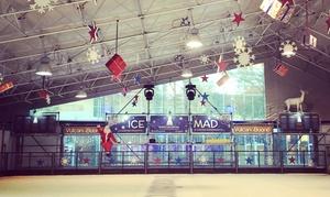 Ice Mad: Ingresso per 2 o 4 persone alla pista di pattinaggio Vulcano Buono Ice Mad (sconto fino a 56%)