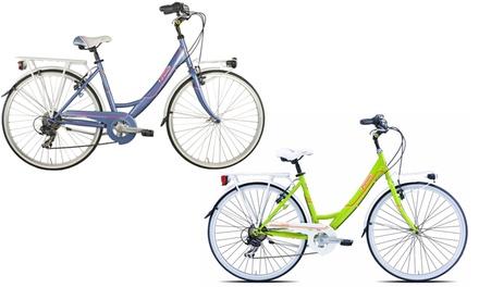 "26"" Damen-Citybike in Grün oder Violett inkl. Versand (Frankfurt)"