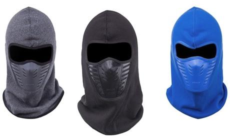 1, 2 o 3 máscaras de invierno de lana térmica
