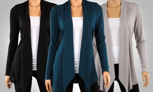 Draped Hacci Cardigans (3-Pack) at Draped Hacci Cardigans (3-Pack), plus 6.0% Cash Back from Ebates.