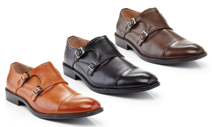 Adolfo Milano Men's Slip-On Dress Shoes | Groupon