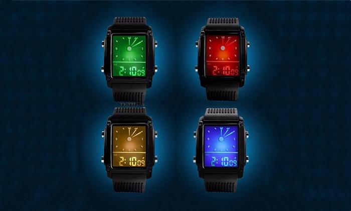 1 of 2 digitale LED-horloges | Groupon Goods