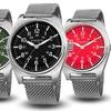 Akribos XXIV Men's Mesh Bracelet Watch