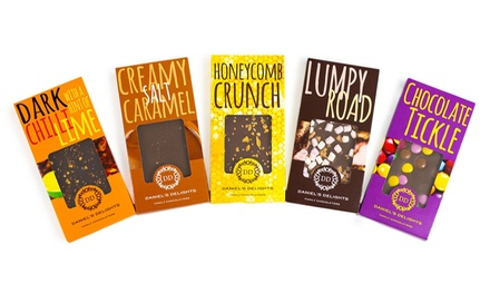 5, 10 or 20 of Daniel's Delights Colombian Variety Chocolate Bars