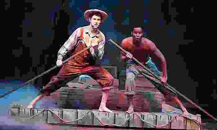 """""""Big River - The Adventures of Huckleberry Finn"""" - Cameo Theatre: """"Big River – The Adventures of Huckleberry Finn"""" for Two at Cameo Theatre on July 12–August 10 (Up to 50% Off)"""