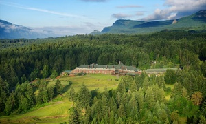 Sprawling Lodge Overlooking Columbia River at Skamania Lodge, plus 6.0% Cash Back from Ebates.