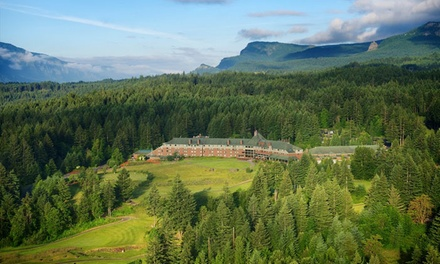 Stay at Skamania Lodge in Stevenson, WA, with Dates into February 2019.