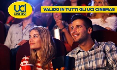 UCI Cinemas: uno o 2 biglietti validi dal 18 al 28 febbraio 2019 nelle sale UCI di tutta Italia (sconto 43%)