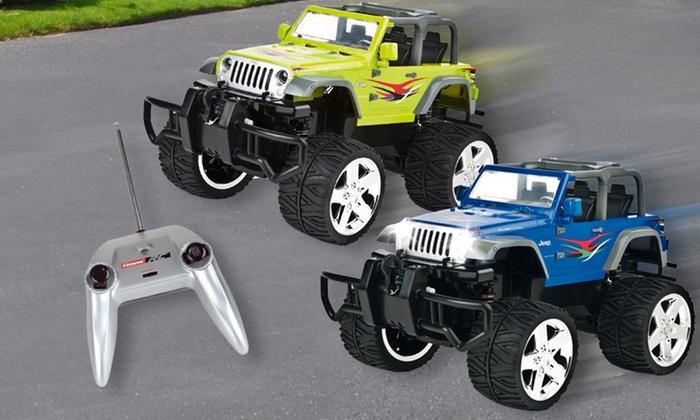 jeep wrangler truck groupon goods