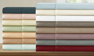 800TC 100% Egyptian Cotton Addy Home Baratta Hem Sheet Set (4-Piece)